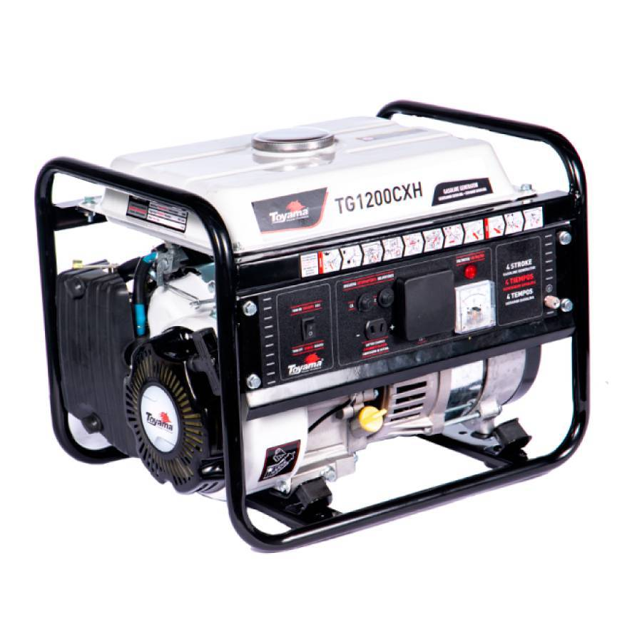 Gerador de Energia Gasolina 1 KVA Toyama TG1200CXH manual - CASA DO FRENTISTA