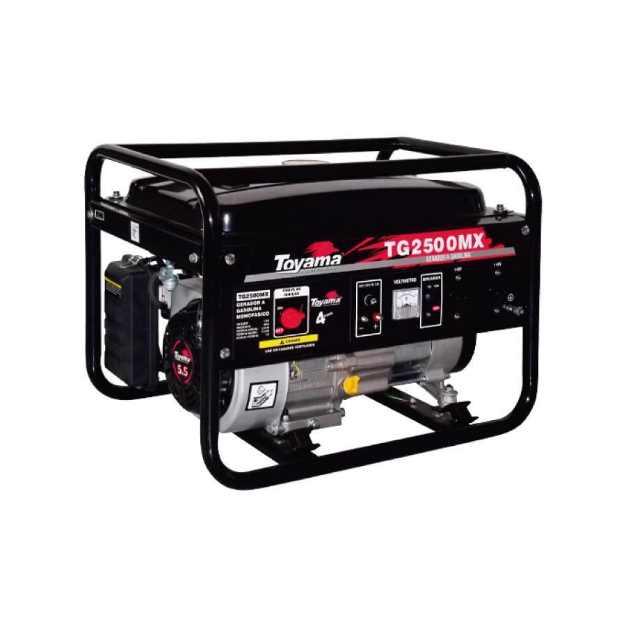 Gerador a Gasolina 2.2 kVA Monocilíndrico 127V TG2500MX - CASA DO FRENTISTA