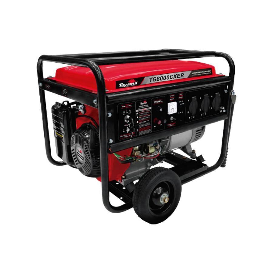 Gerador a Gasolina 7.5kVA Bivolt TG8000CXER 115/230 v Toyama - CASA DO FRENTISTA
