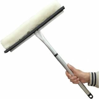 Rodo Limpa Vidros 35cm com Cabo para Janelas e Para-brisas
