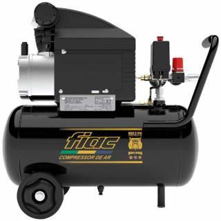 Motocompressor 8 Pés 24L 110V Fiac Bulldog com rodas e 120 psi