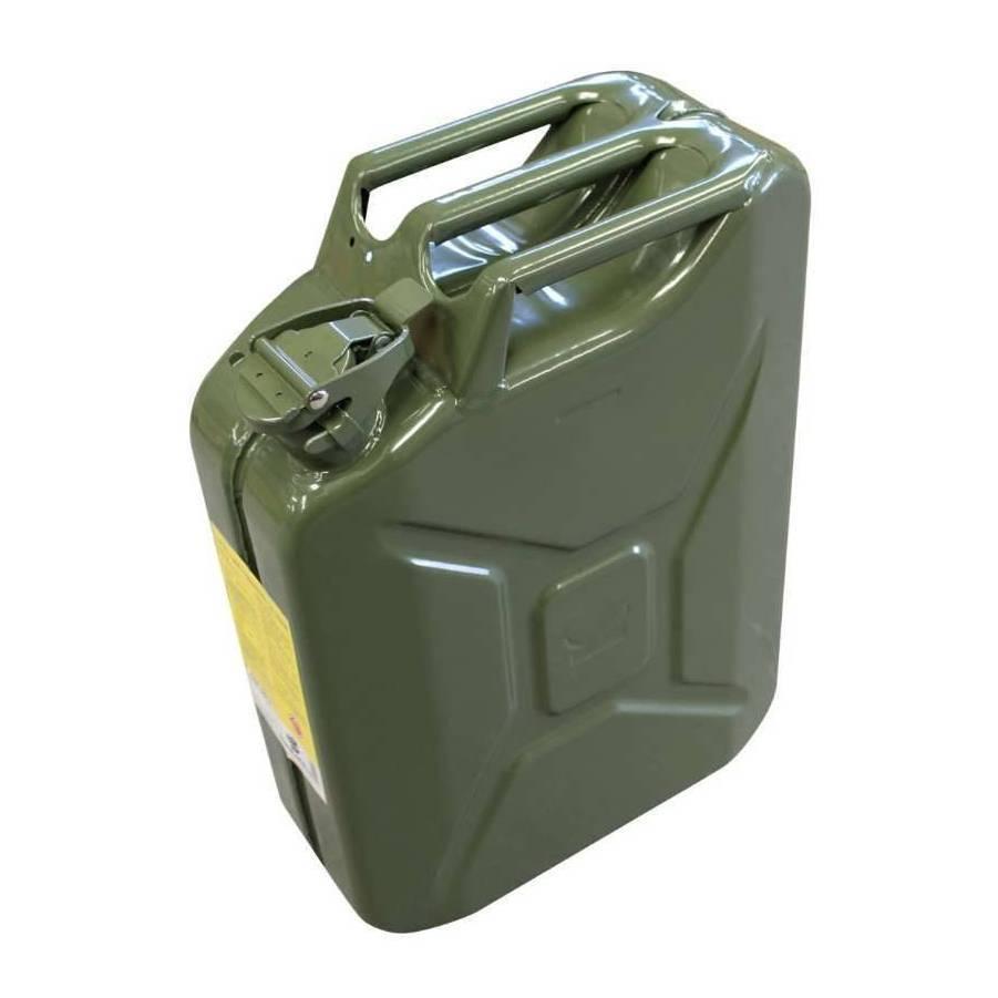 Conjunto Galão de Metal 20L 0.6mm e Extensão Rígida/Flexível - CASA DO FRENTISTA