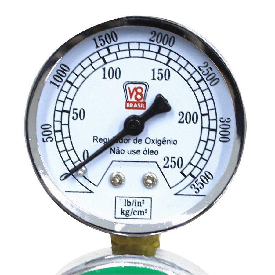 Regulador de Pressão Oxigênio EX V8 - CASA DO FRENTISTA
