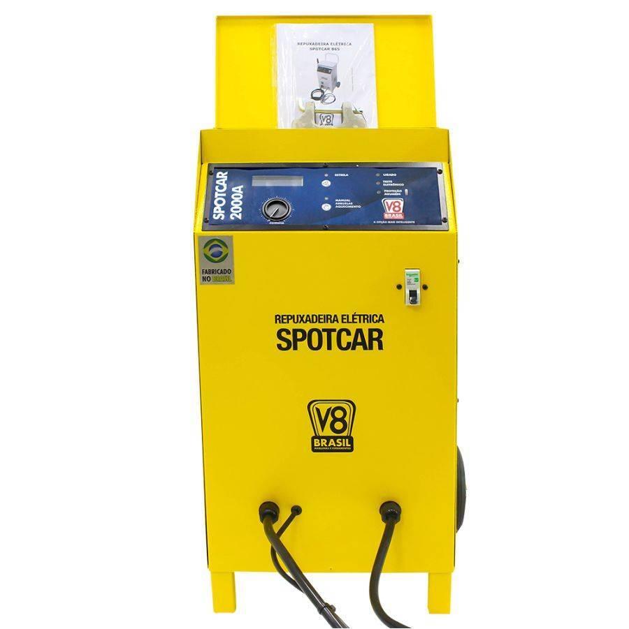 Repuxadeira Elétrica 19 kVA 220V Spotcar 2000A V8 Brasil - CASA DO FRENTISTA