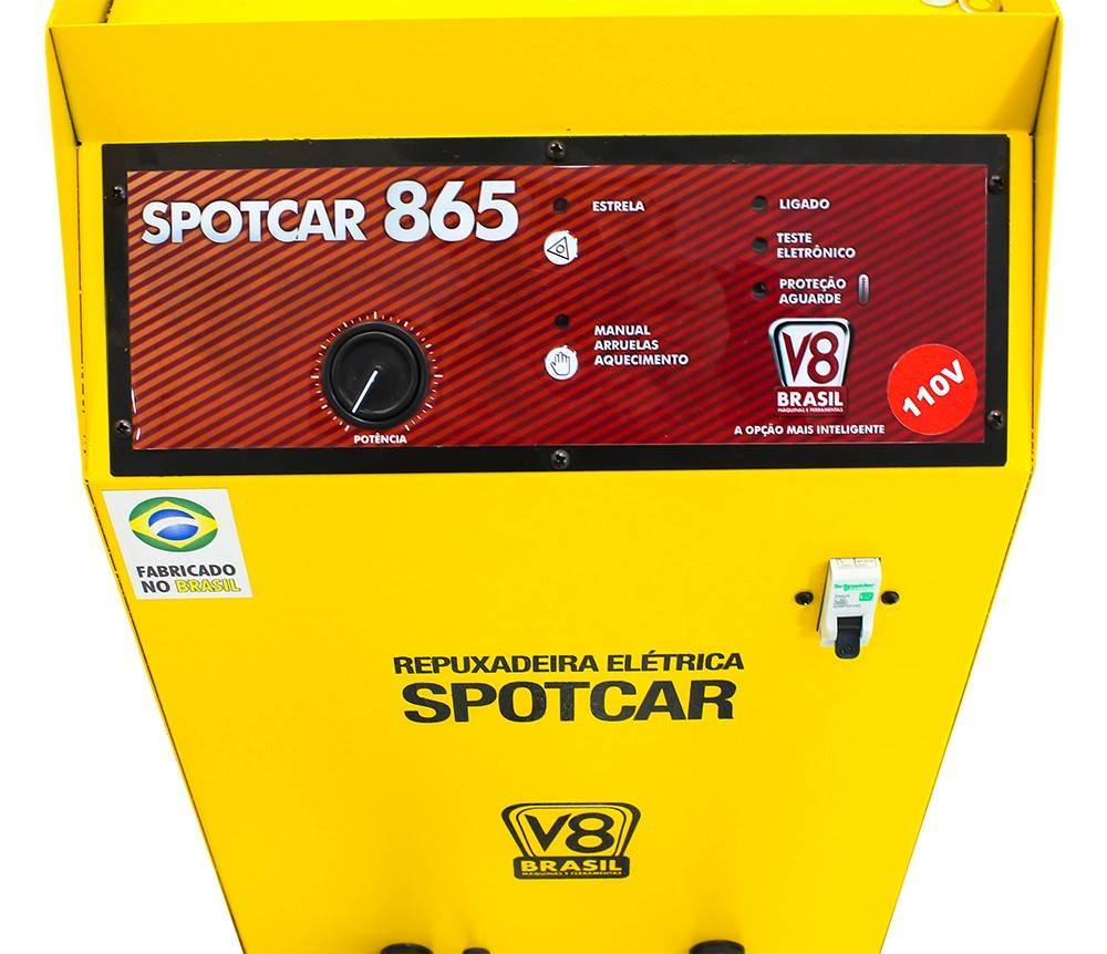 Repuxadeira Elétrica 16 kVA 220V Mono Spotcar 865 V8 Brasil - CASA DO FRENTISTA