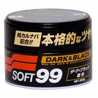 Cera Automotiva de Carnaúba Brilho Molhado Dark & Black Soft99