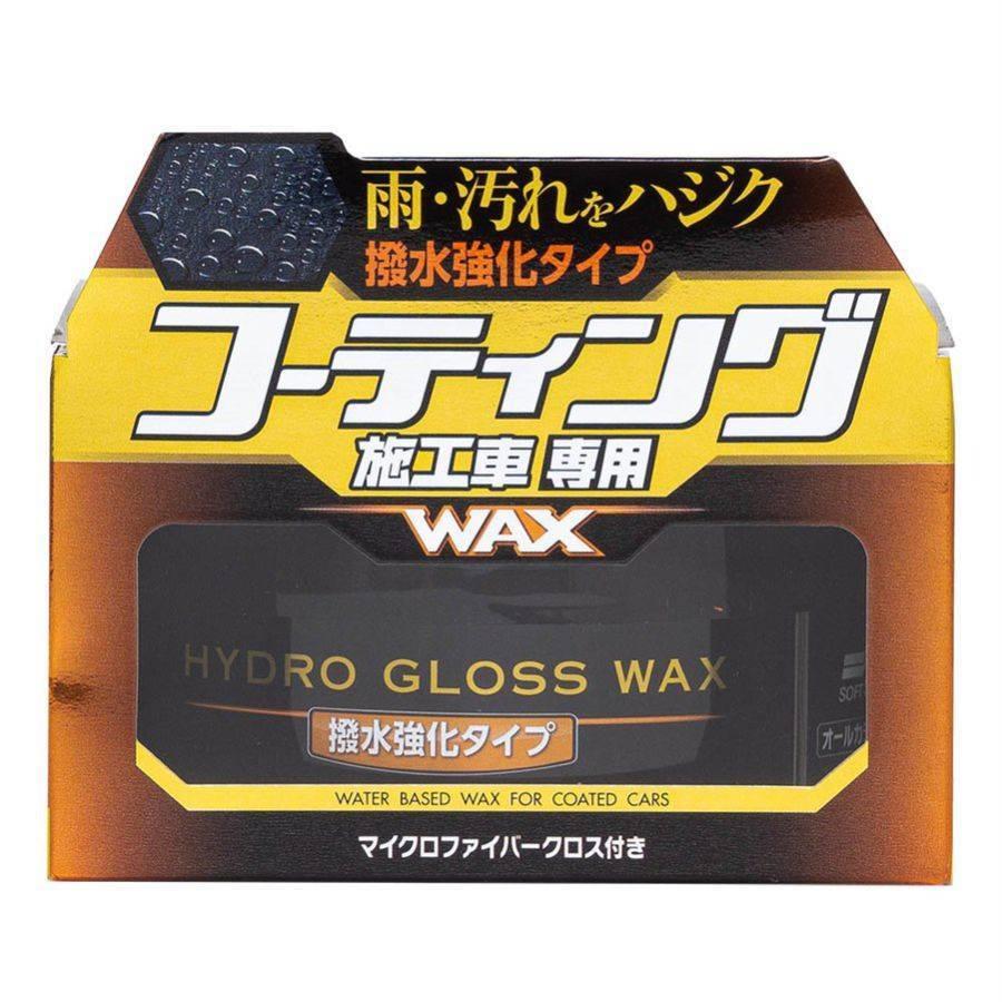 Cera Hydro Gloss sem Solvente a Base d'água Soft99 00532 - CASA DO FRENTISTA