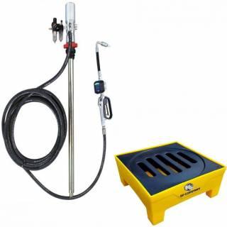 Conjunto Bacia Pallet Contenção e Kit Propulsora Pneumática