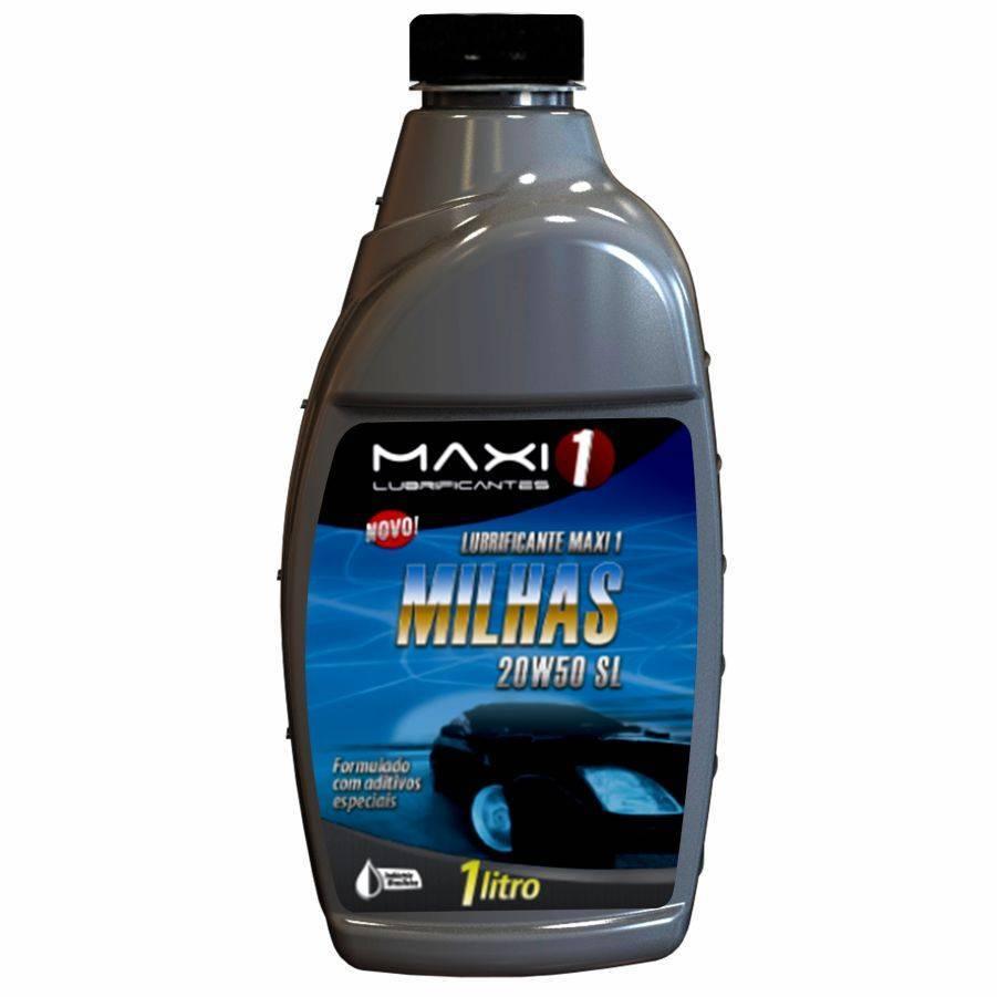 Óleo Maxi 1 Milhas 20W50 - CASA DO FRENTISTA