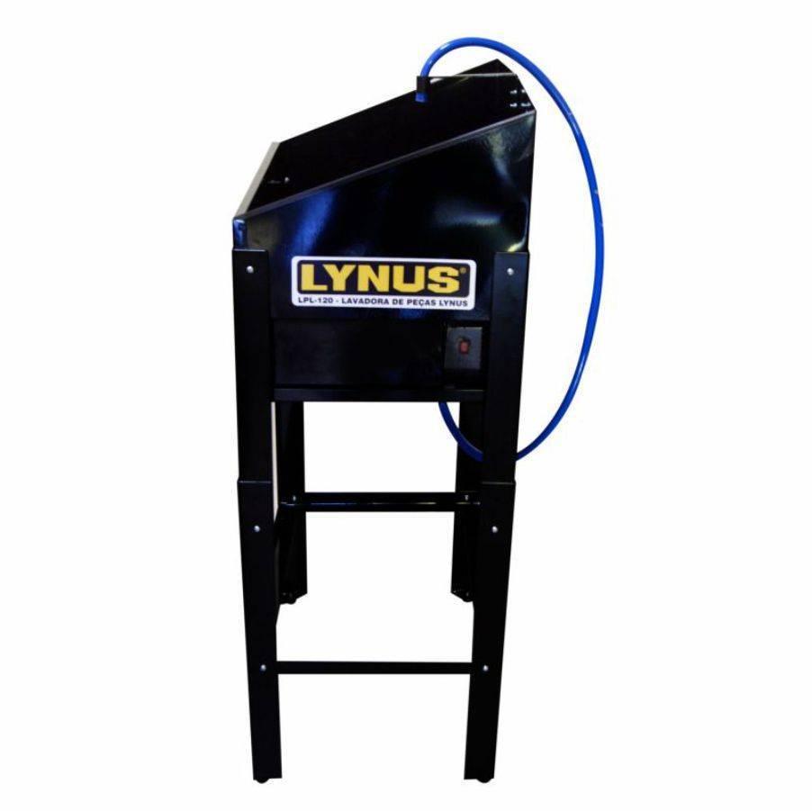 Lavadora de Peças 12 litros 220V Marca Lynus LPL-120 preta - CASA DO FRENTISTA