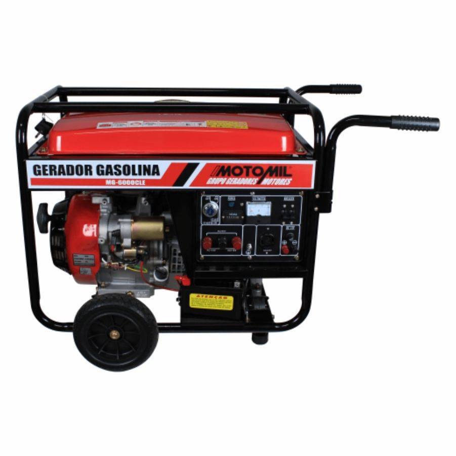 Gerador de energia a Gasolina 5,5 Kva Trifásico com pártida  - CASA DO FRENTISTA