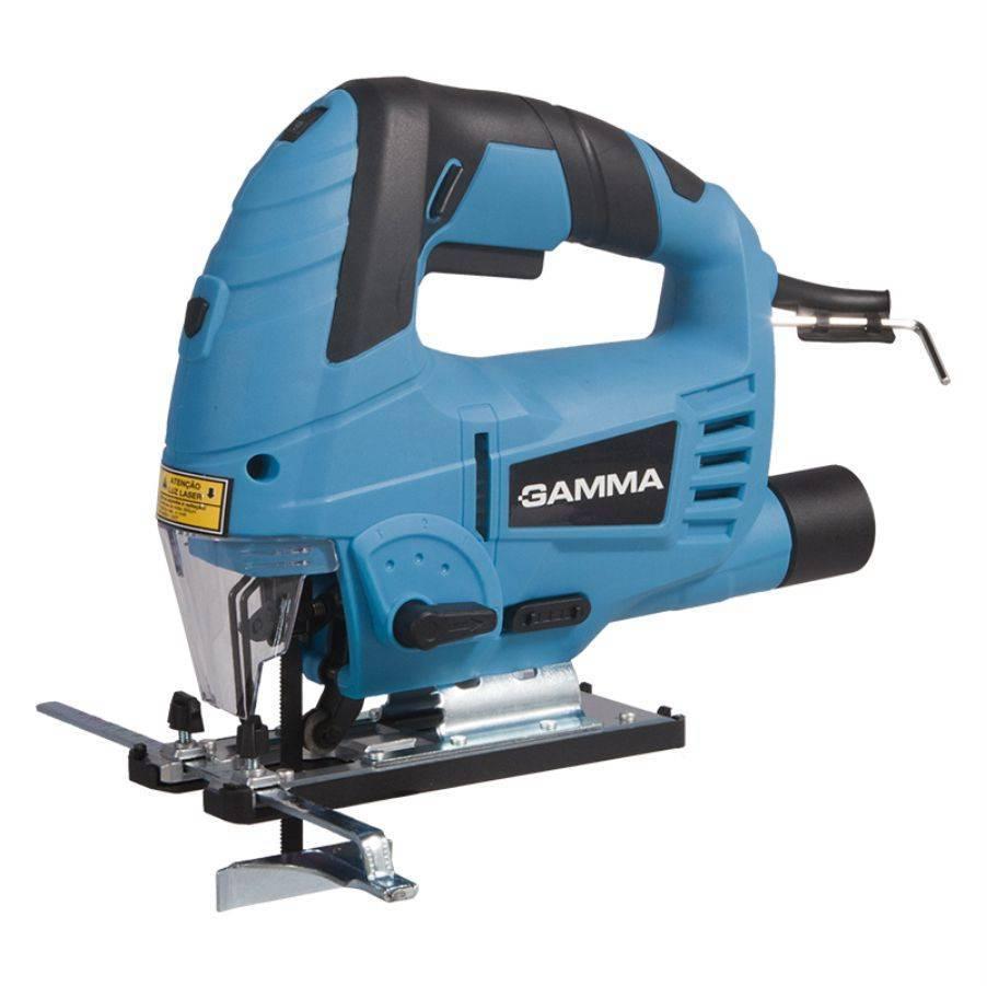 Serra Tico-Tico Pendular com guia a Laser 127V 800W Gamma  - CASA DO FRENTISTA