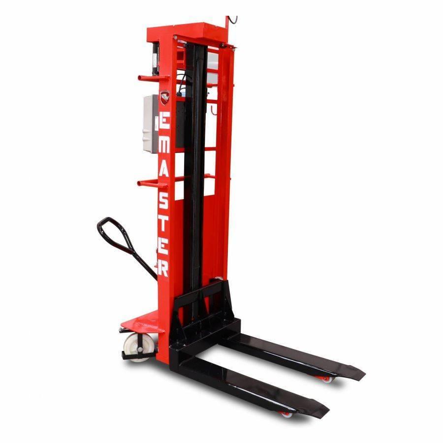 Empilhadeira Manual Semi-Elétrica 1 Ton Emaster 11800 - CASA DO FRENTISTA