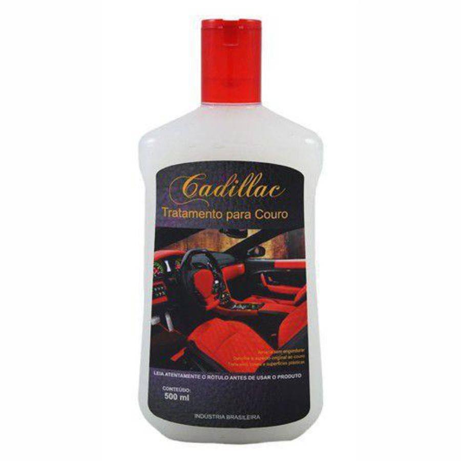 Tratamento de Couro 500ml Cadillac - CASA DO FRENTISTA