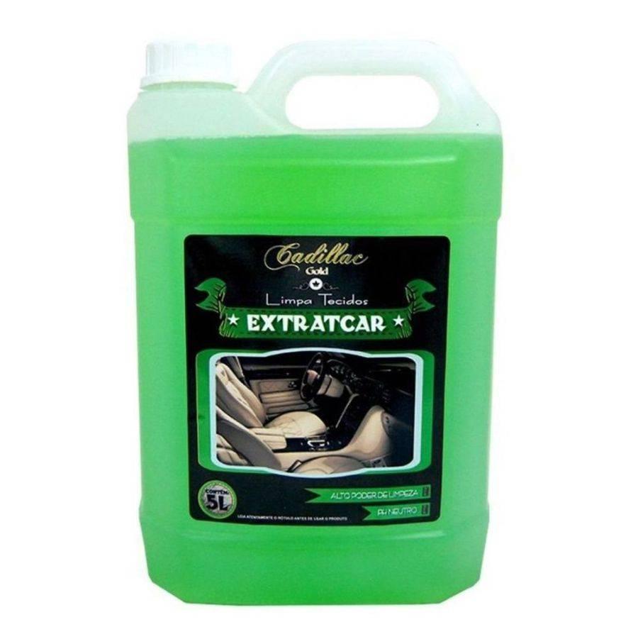 Limpa Tecido Para Extratora Extratcar 5L Cadillac - CASA DO FRENTISTA