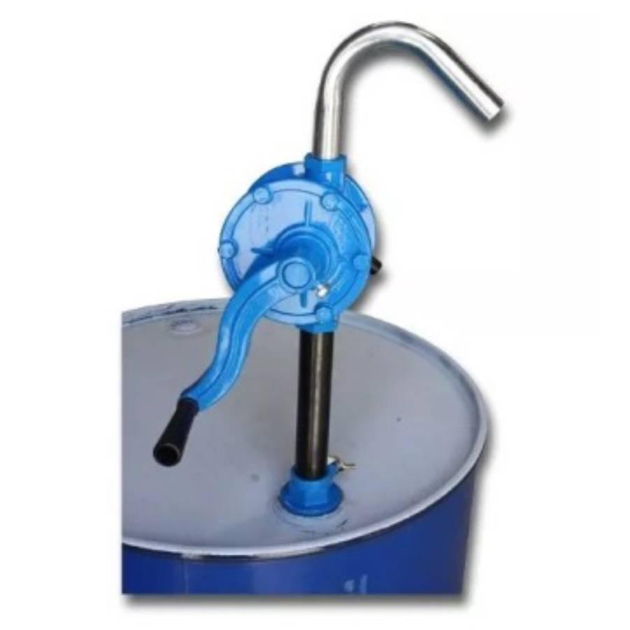 Em Oferta: Bomba Rotativa Manual Alumínio para Tambor 30Lpm  - CASA DO FRENTISTA