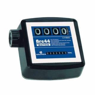 Medidor Vazão Mecânico 4 Dígitos BRE 44 Bremen 7811