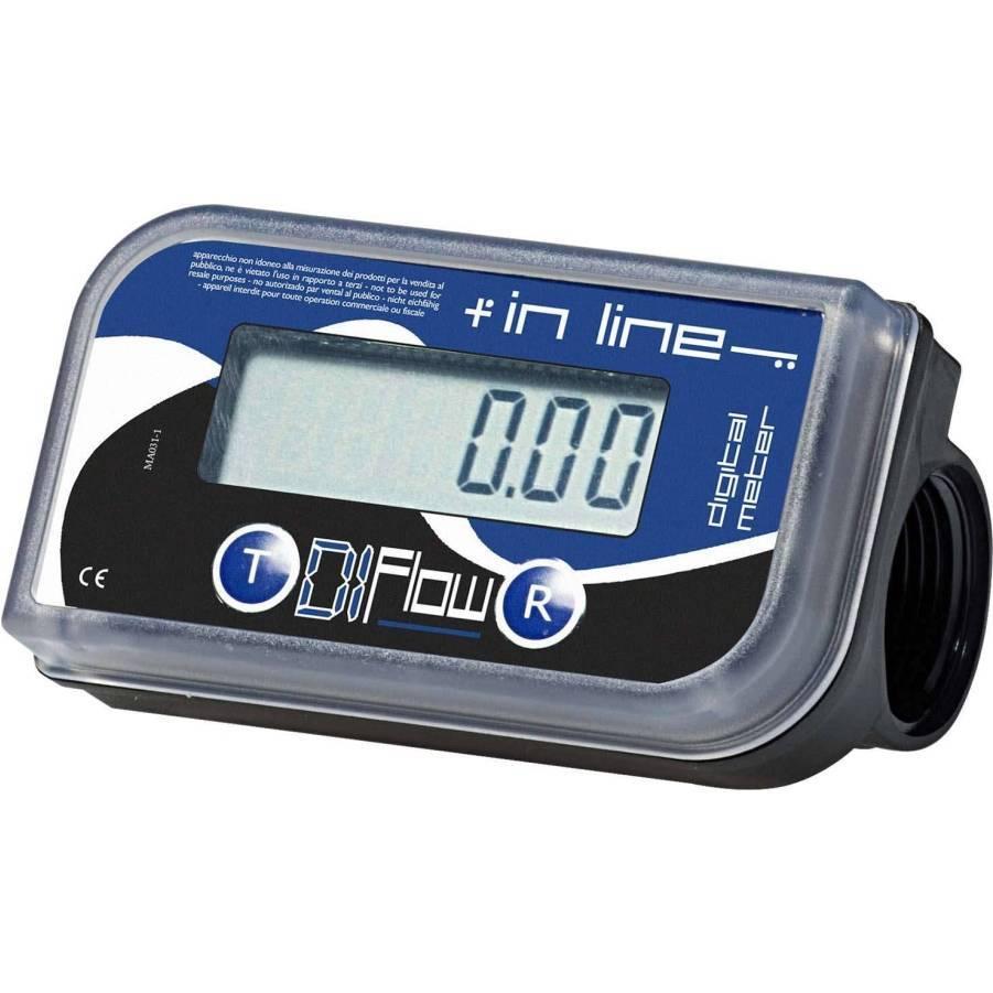 Medidor Digital para Diesel 1pol 10 a 150 Lpm Bremen 8344 - CASA DO FRENTISTA