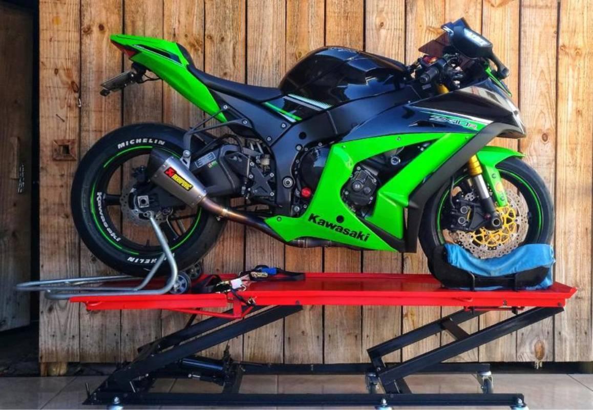 Elevador Hidráulico para Motos 350 kgs GP Company  - CASA DO FRENTISTA