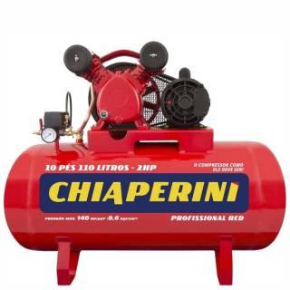 Compressor 10 pés 110 Litros Red Profissional Monofásico
