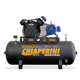 Compressor 40 pés Chiaperini 360 Litros Industrial Trifásico