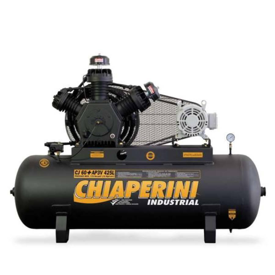 Compressor 60 pés Chiaperini 425L é na CASA DO FRENTISTA! - CASA DO FRENTISTA