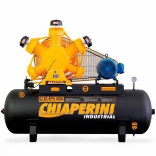 Compressor 60 pés Chiaperini APW 425Lts Industrial Trifásico