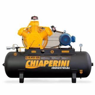 Compressor 40 pés Chiaperini 425 Litros Industrial Trifásico