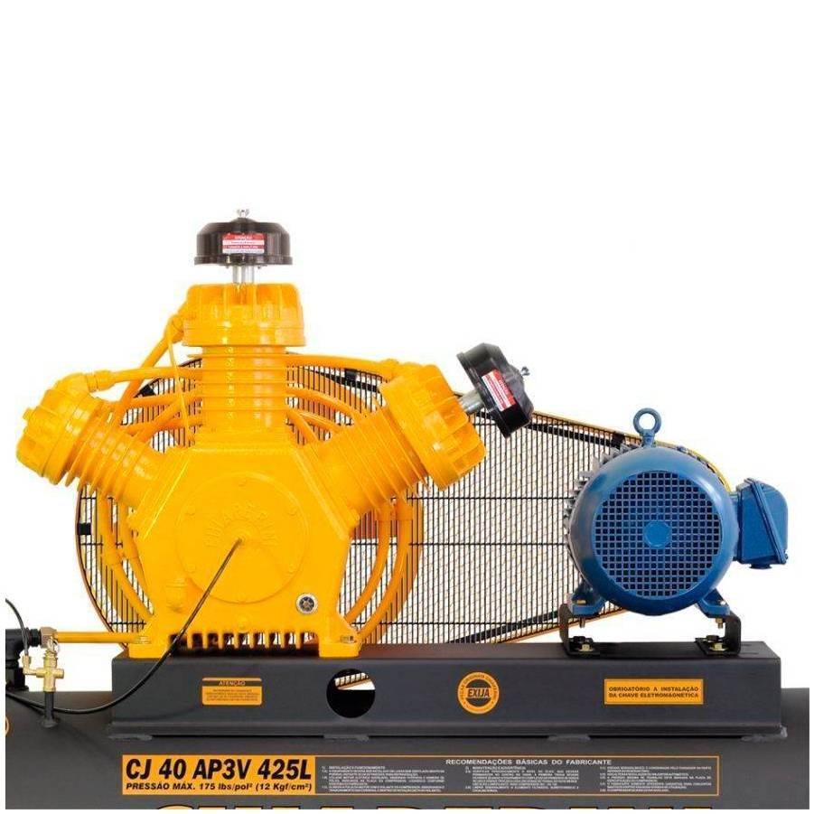 Compressor 40 pés Chiaperini 425 Litros Industrial Trifásico - CASA DO FRENTISTA