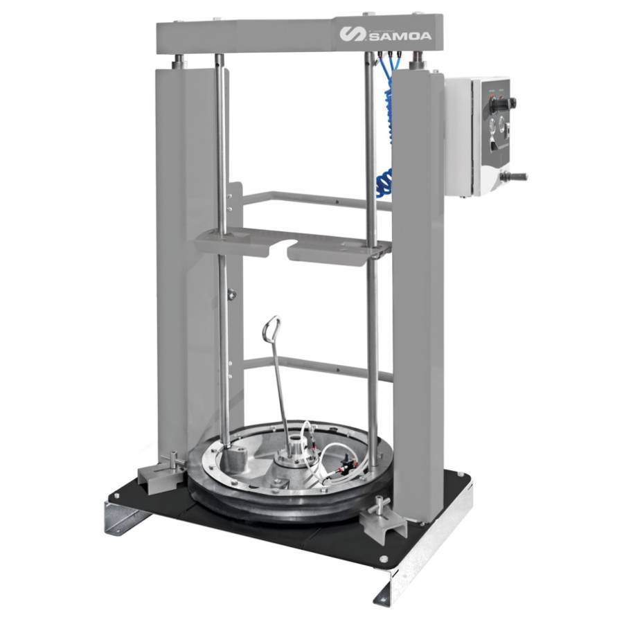 Elevador Fixo Pneumático Compactação Graxa 200 l COMPRE AQUI - CASA DO FRENTISTA