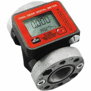 Medidor Digital 3/4 Polegada 6 a 60Lpm para Óleos Lupus 2150