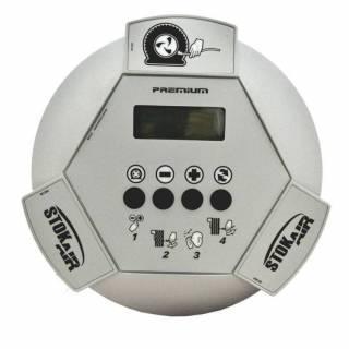 Calibrador de Pneus Eletrônico Bivolt Blindado Stokair M2000