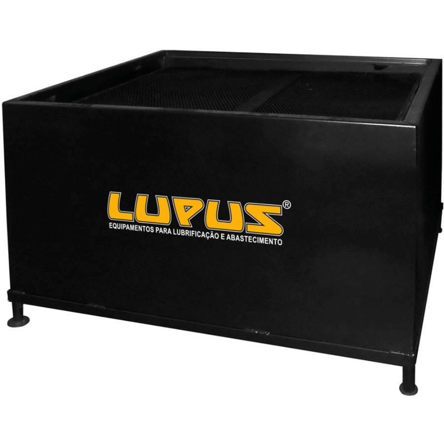 Bacia de Contenção em Aço 1000L Lupus 9300-B1000 - CASA DO FRENTISTA