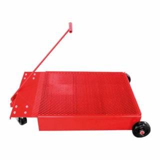 Coletor Tipo Carrinho Vermelho Pequeno Cap. 50L Lupus 9003-C