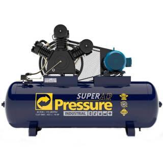 Compressor Industrial 40 Pés 425 Litros Trifásico Pressure