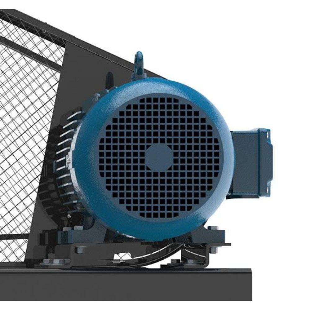 Compressor Industrial 40 Pés 425 Litros Trifásico Pressure - CASA DO FRENTISTA