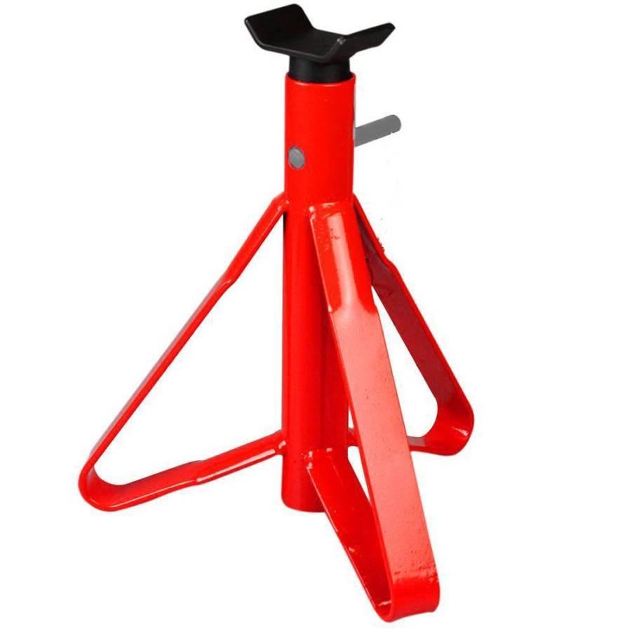 Cavalete para Automóvel 2 toneladas Vermelho com haste - CASA DO FRENTISTA