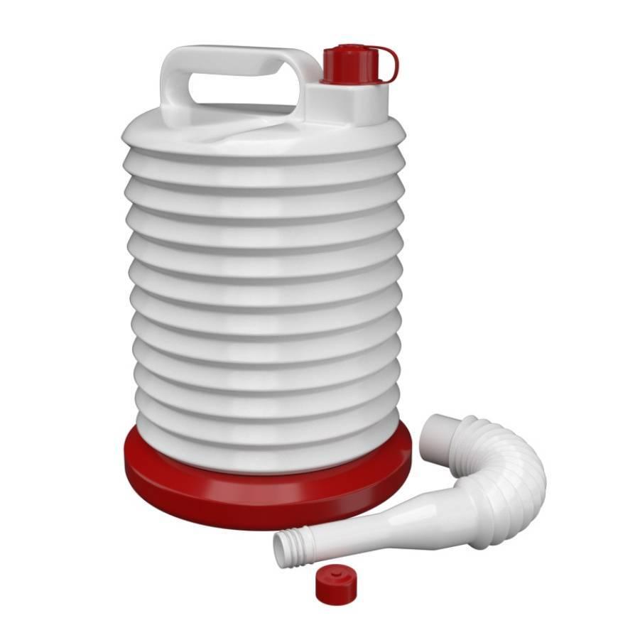 Galão para Combustível 5L com Base Reutilizável Agilize - CASA DO FRENTISTA