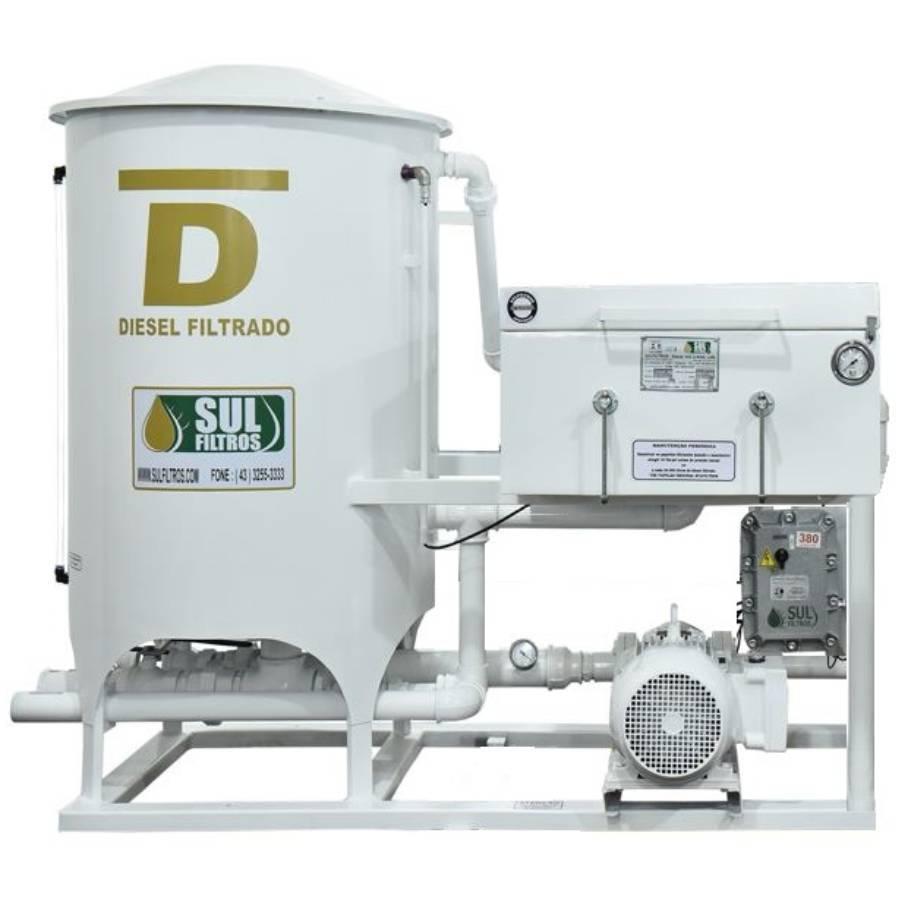 Filtro Prensa Simples para Diesel SF11000 Sul Filtros Branco - CASA DO FRENTISTA