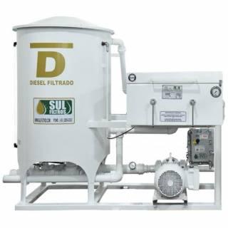 Filtro Prensa Simples para Diesel SF11000 Sul Filtros Branco