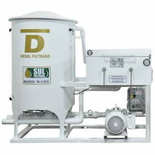 Filtro Prensa Simples para Diesel SF14000 Sul Filtros Branco