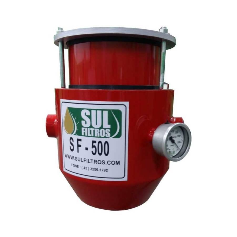 Filtro Foguetinho de Linha Modelo Agro SF500 Comboio Vermelh - CASA DO FRENTISTA