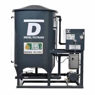 Filtro Prensa Simples para Diesel SF6000 Sul Filtros Cinza