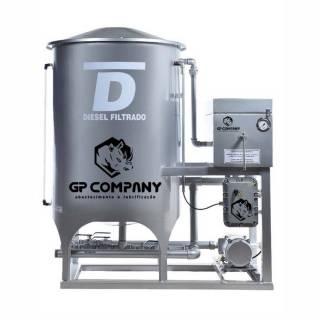Filtro Prensa para Diesel Simples Prata 6000L/Hr GP Company