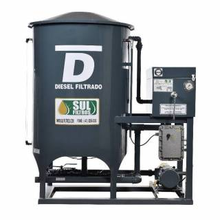 Filtro Prensa Simples para Diesel SF9000 Sul Filtros Cinza