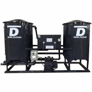 Filtro Prensa Duplo para Diesel SF9000-D Sul Filtros Preto