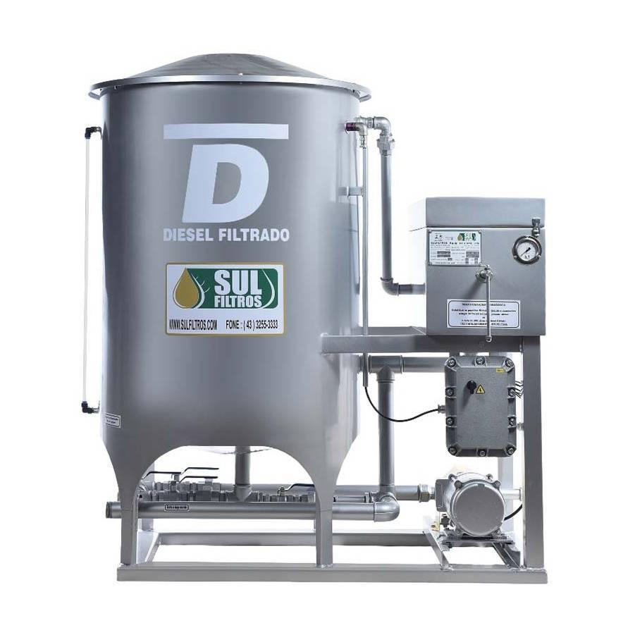 Filtro Prensa Simples para Diesel SF22000 Sul Filtros Prata - CASA DO FRENTISTA