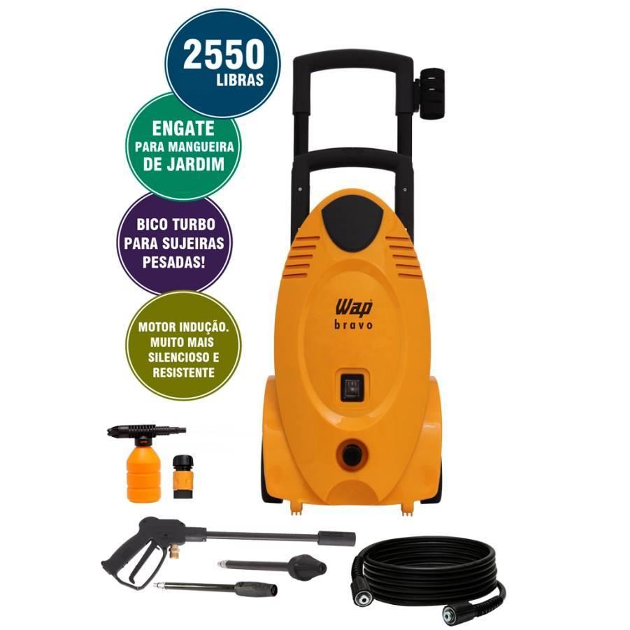 Lavadora de Alta Pressão 127V 60Hz 1700W Wap Bravo 2550 - CASA DO FRENTISTA