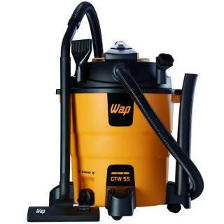 Aspirador de Água e Pó Profissional Wap 220V 1600W 55L GTW 55