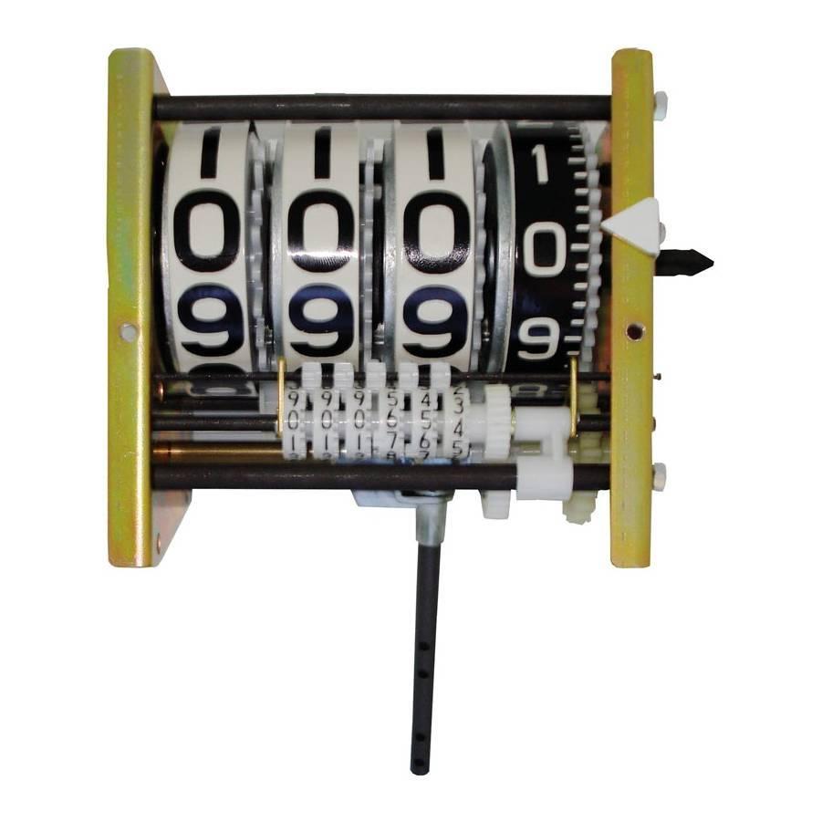 Numerador Registrador de bomba Mecânica com 04 Dígitos Wayne - CASA DO FRENTISTA